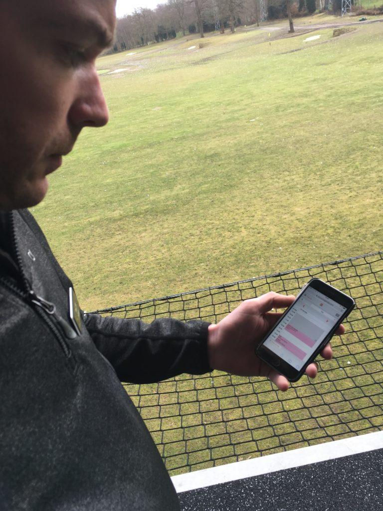 Paul Martin using ProAgenda.com bookings diary at Silvermere Feb 2017