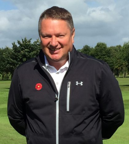 Phil Harvey, county secretary of the Lancashire Union of Golf Clubs