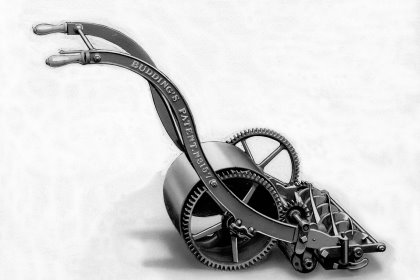 Edwin Budding's lawnmower was patented in 1830