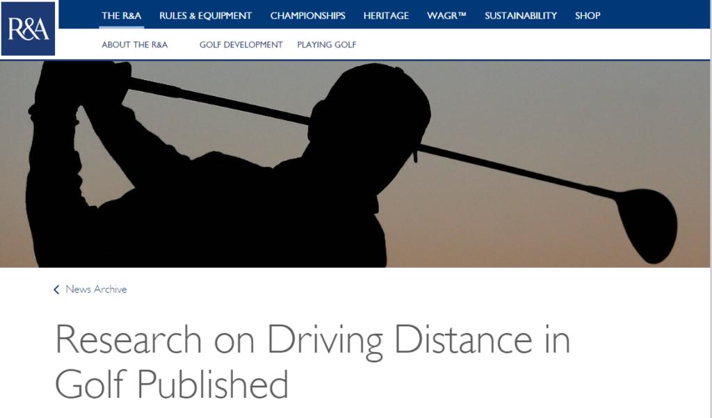 RandA DRiving Ditance report