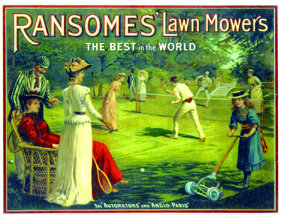 Ransomes 1893 poster