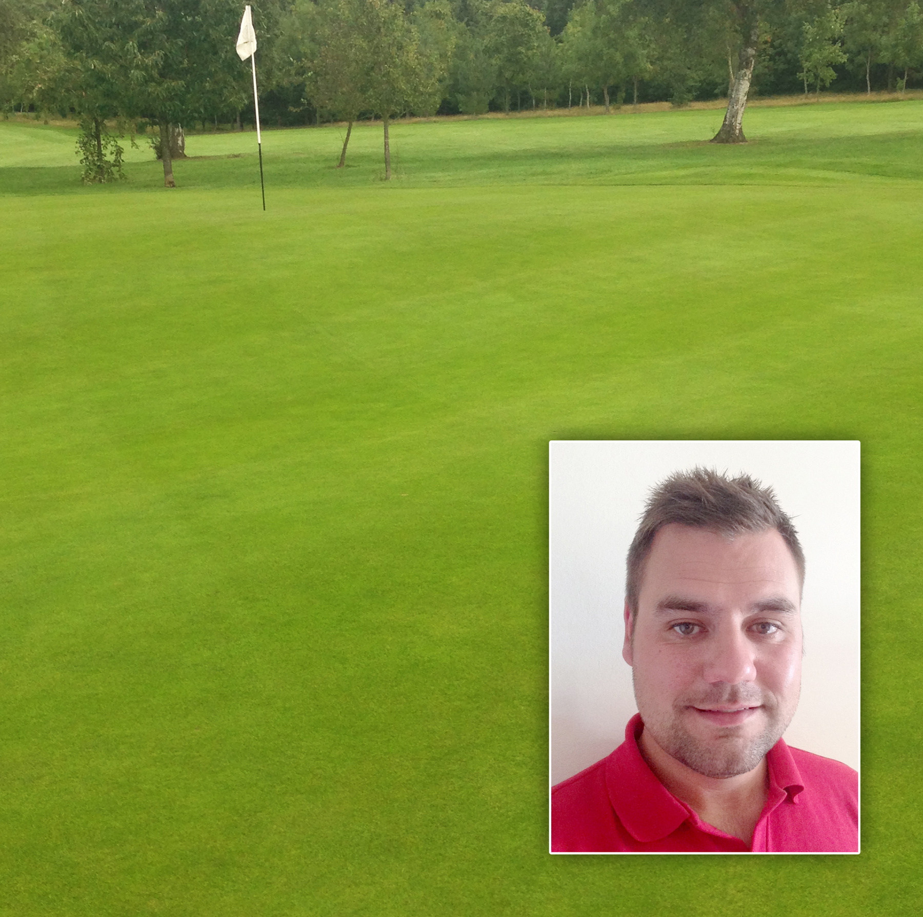 Redditch Green Golf Club with Course Manager Karl Williams