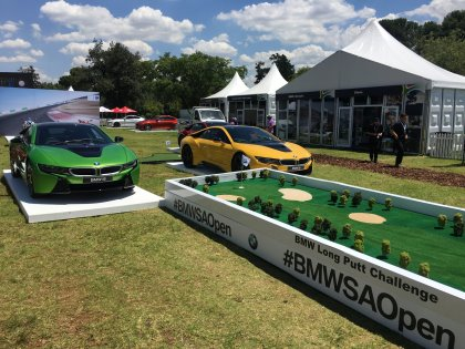 Provision Events 'fan zone' experience at BMW SA Open