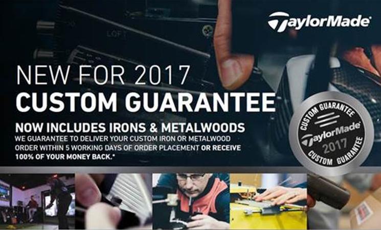 Taylor Made Custom Guarantee