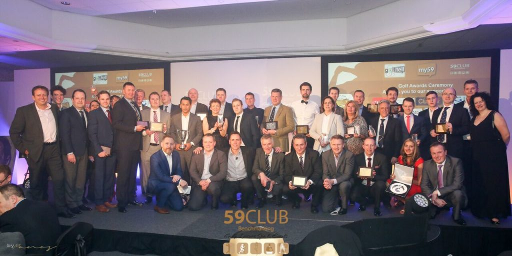 59club Excellence Award Winners - The Belfry 27th, Feb 2017