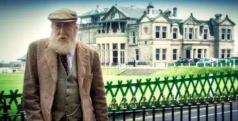 Old Tom Morris of St Andrews GCSAA ad