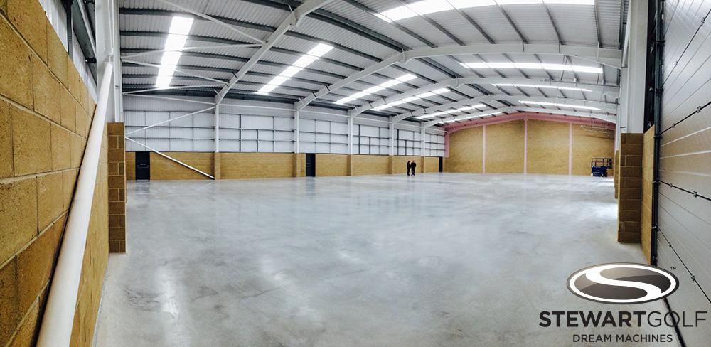 Inside the new Stewart Golf factory