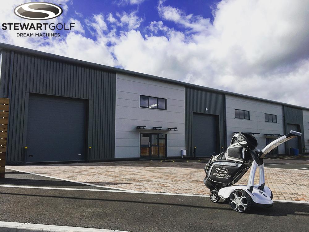 The new Stewart Golf factory
