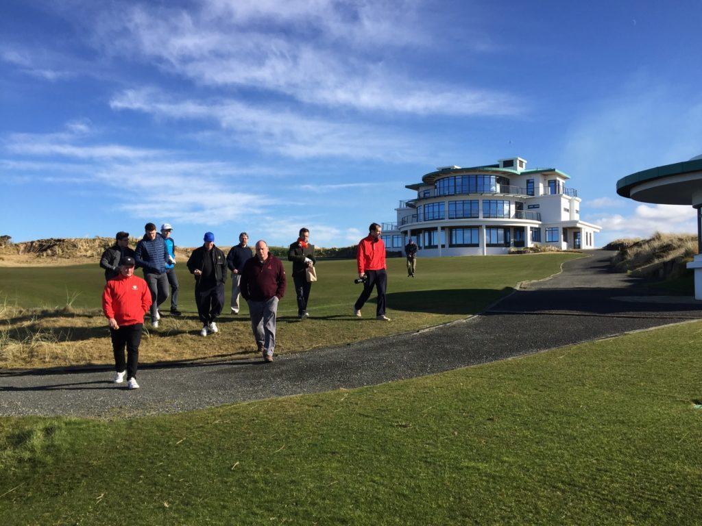 Site visit at Castle Stuart Golf Links