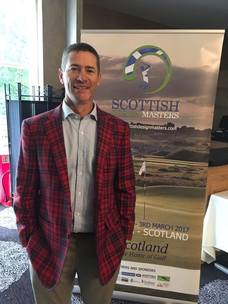 Thad Layton, senior golf course architect at the Arnold Palmer Design Company