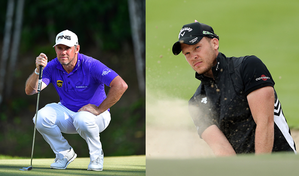 Lee Westwood and Danny Willett (Getty Images)
