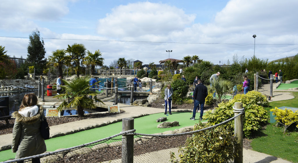 Adventure Golf at the A1 Golf Activity Centre