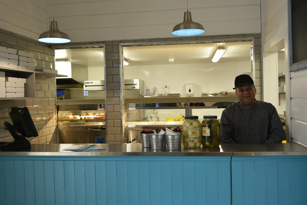 The new 'Cannons' fish & chip restaurant