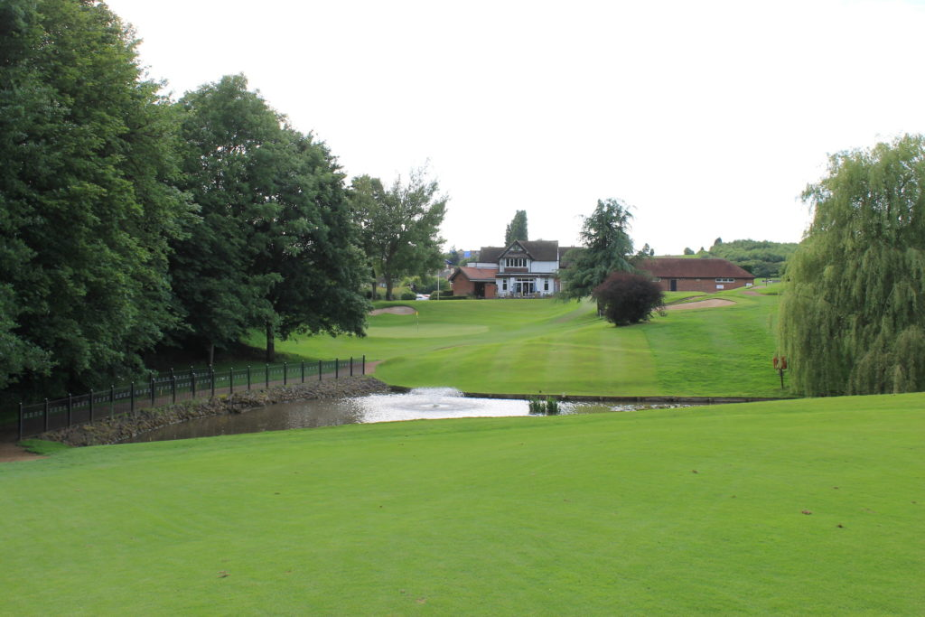 Approach to 18th Green Burton on Trent Golf Course