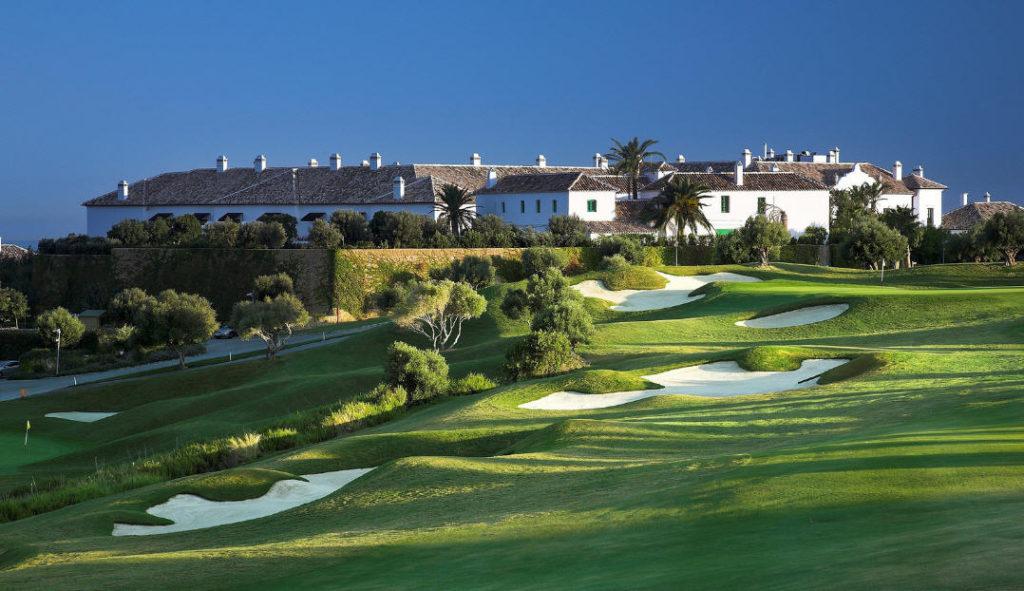 The deluxe Finca Cortesin Hotel, Golf & Spa