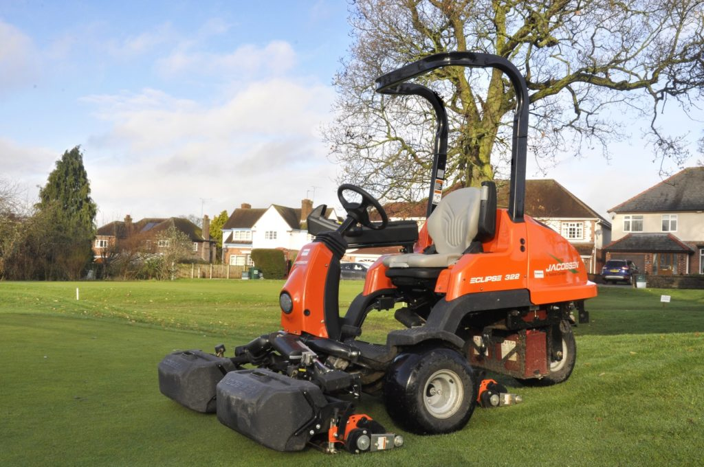 The Eclipse 322 has solved the issue of early morning noise complaints from neighbours, and has saved the golf club an average of £4.83 per day in fuel savings