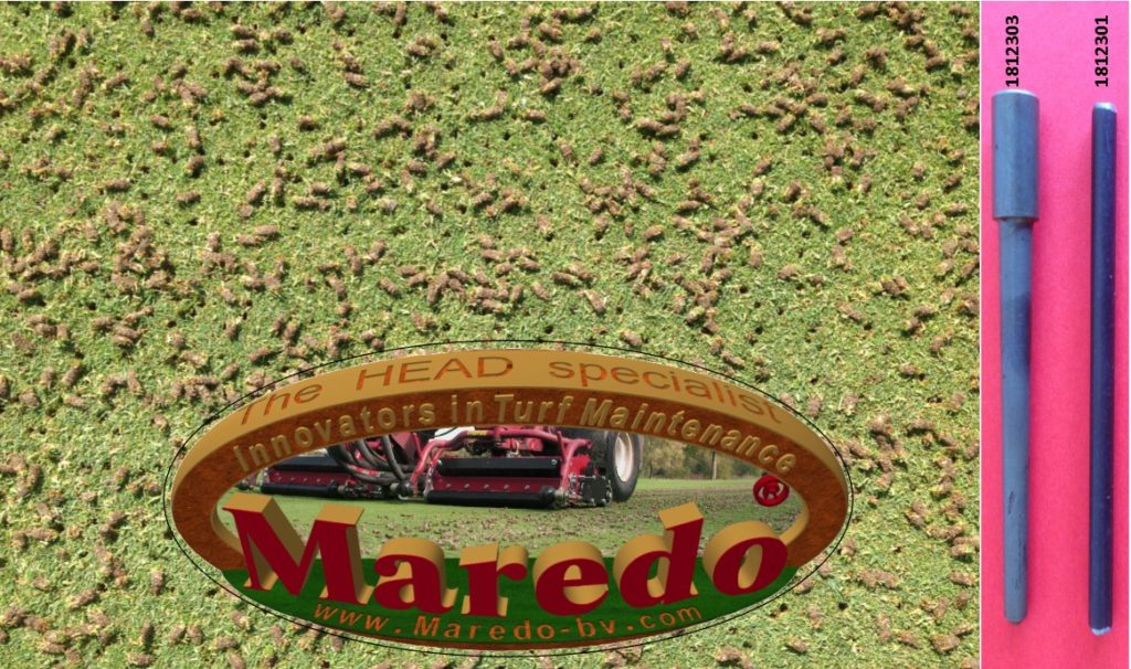 Maredo Picture grass, logo and tines