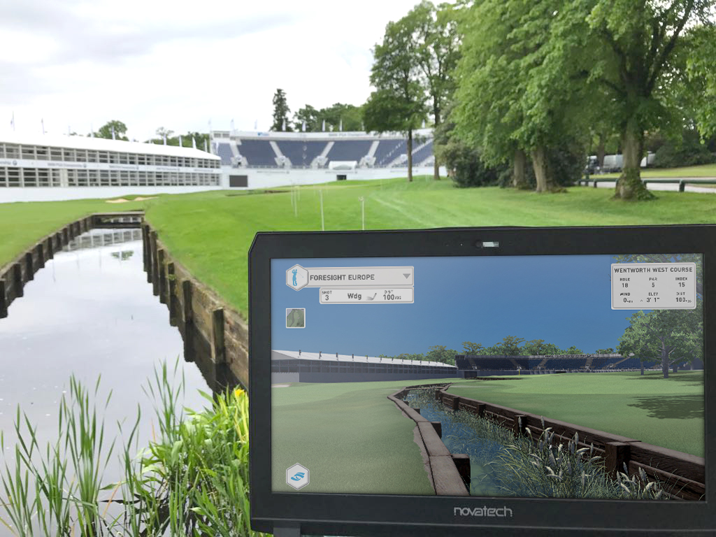 New Look Wentworth On Foresight Simulators 171 Golf Business News